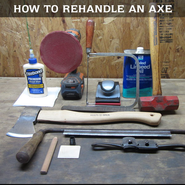 How to Rehandle an Axe