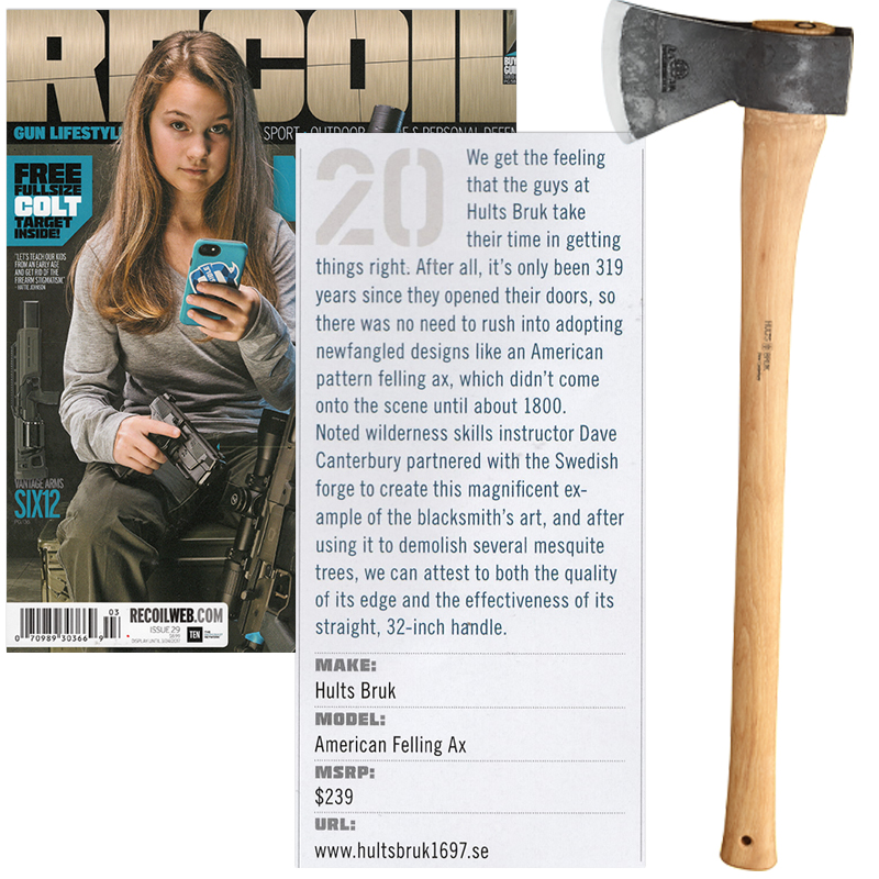 RECOIL Magazine Hults Bruk