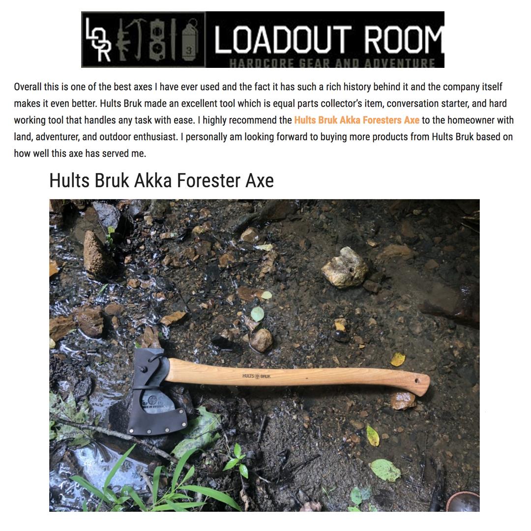 HB Akka Loadout Room