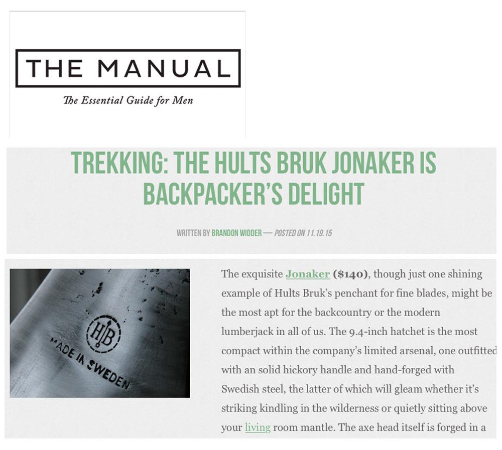 Hults Bruk - Manual