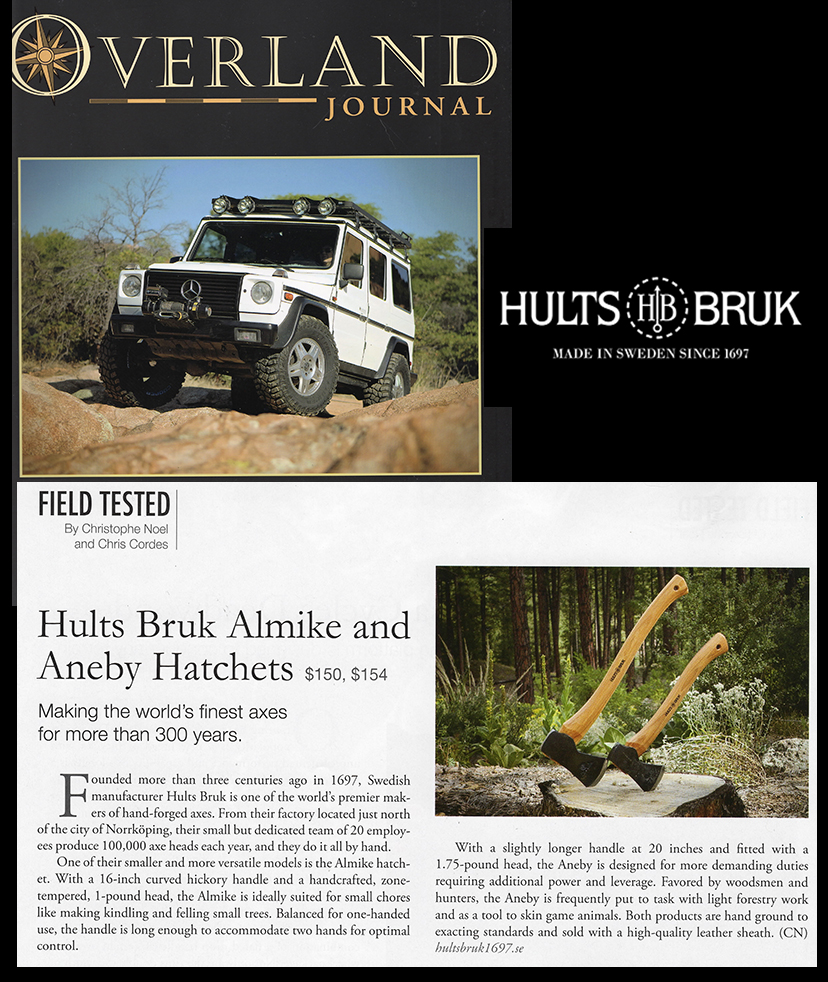 Hults Bruk - Overland Journal