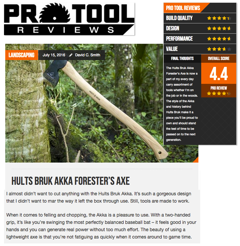 Hults Bruk Pro Tool Review