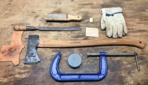 How to sharpen an axe the tools you need