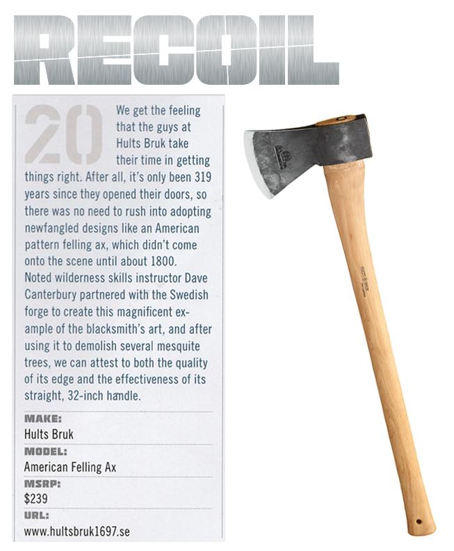 FEB 17 RECOIL HB DC Felling NEW