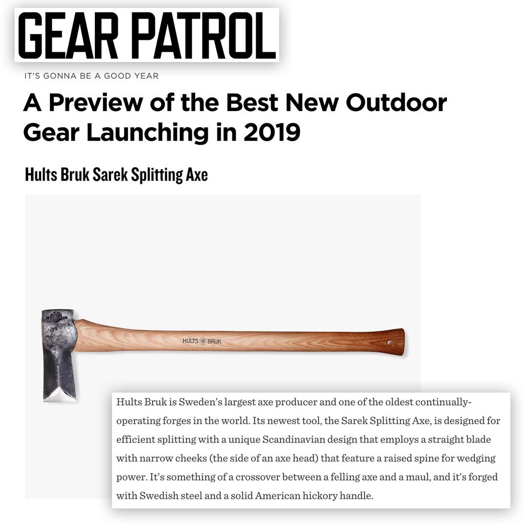 Hults Bruk Sarek Gear Patrol