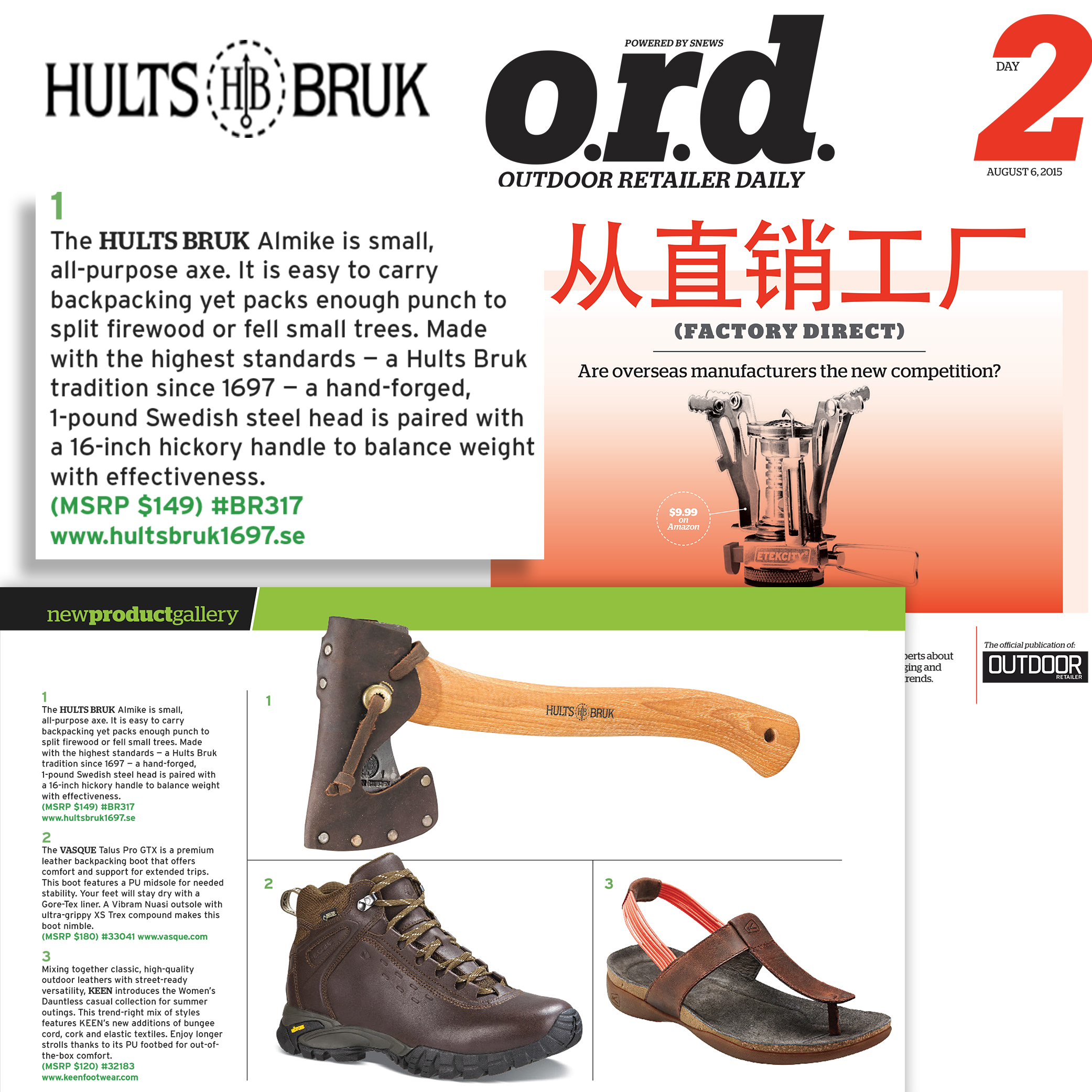 The Hults Bruk's Almike Gets Featured in OR Daily